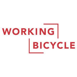 Big big working bicycle